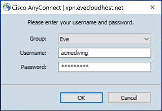 How to install and setup Cisco VPN for EVE | EVE Support